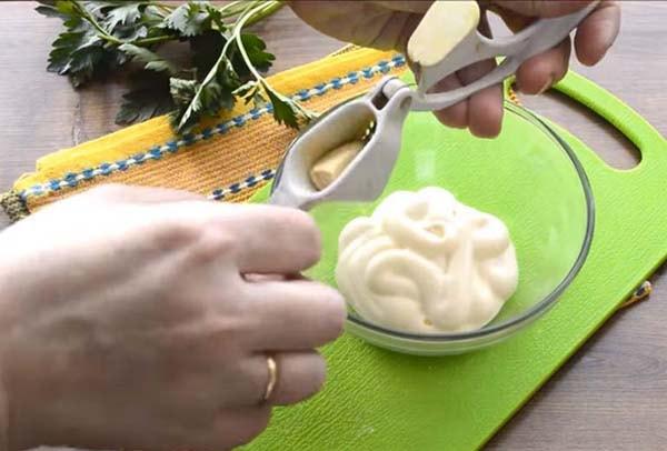 блинчики из лаваша с начинкой из сыра