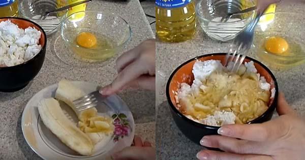 блинчики из лаваша с творогом на сковороде