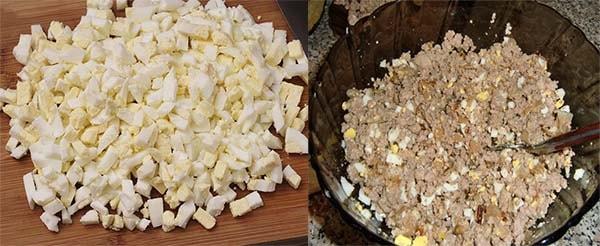 блинчики с мясом яйцом зеленым луком