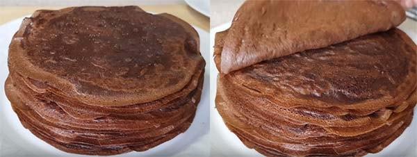 торт-из-шоколадных-блинов-1