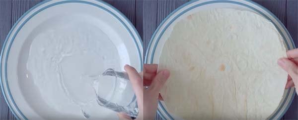 яичница-в-лаваше-на-сковороде-с-сыром-1