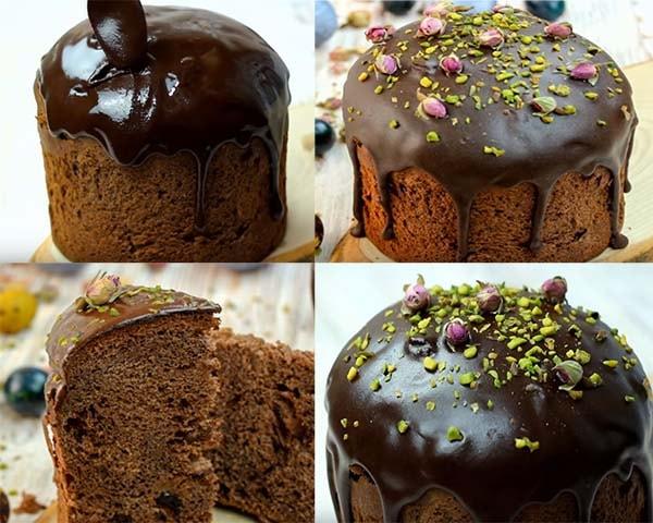 шоколадная-глазурь-для-кулича-4