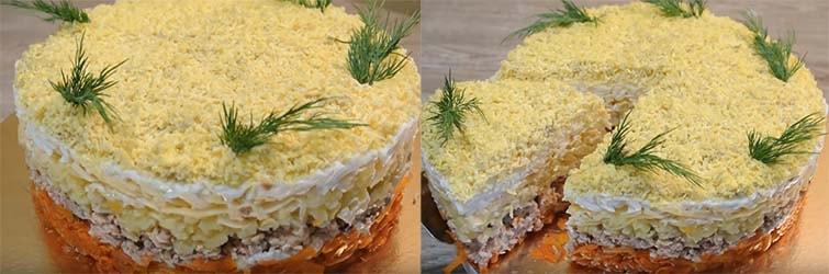 салат-мимоза-с-горбушей-и-сыром-9