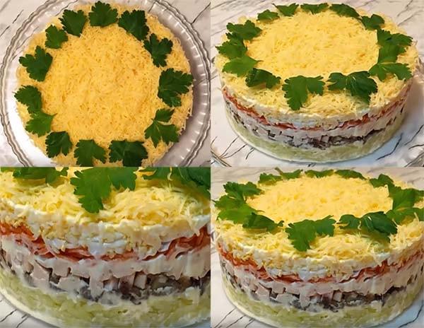 салат-мимоза-с-копченой-курицей-11