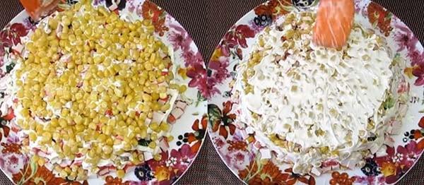 салат-мимоза-с-крабовыми-палочками-и-кукурузой-7