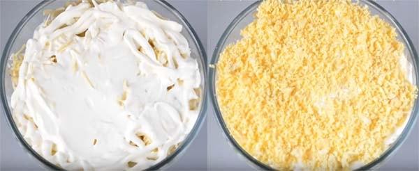 салат-мимоза-с-крабовыми-палочками-и-сыром-10
