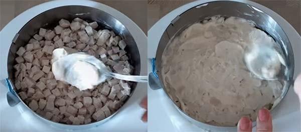 салат-мимоза-с-курицей-и-грибами-7
