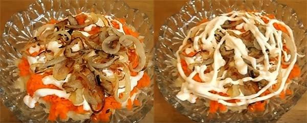 салат-мимоза-со-шпротами-и-сыром-6