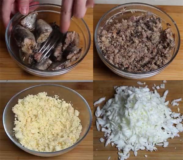 салат-мимоза-со-шпротами-яблоком-1