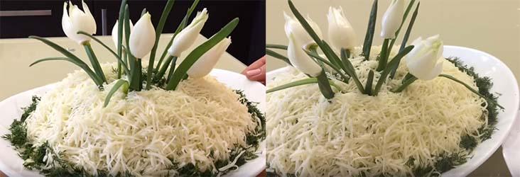 салат-подснежник-с-сыром-и-зеленью-8