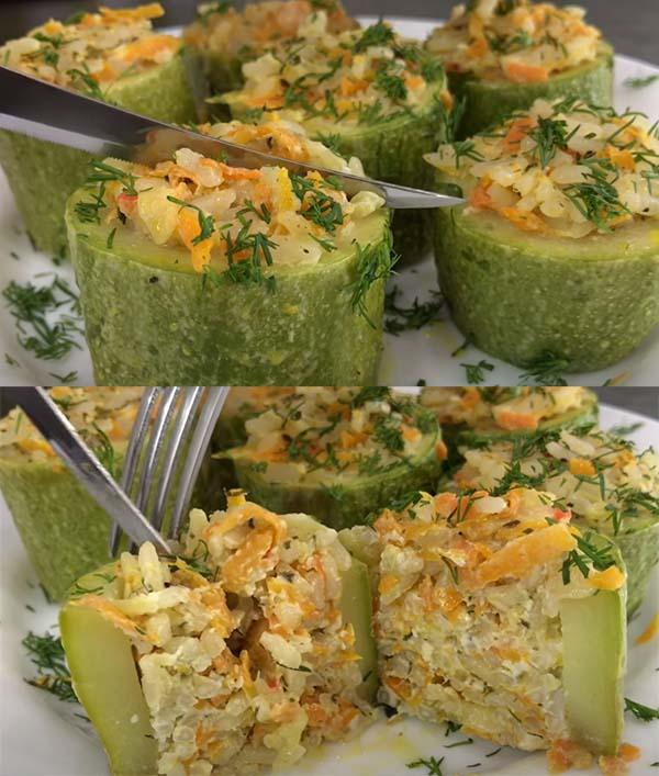 кабачки-фаршированные-овощами-9