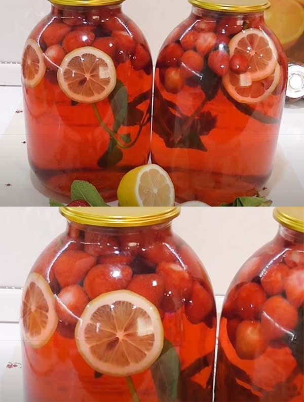 клубничный-компот-с-мятой-и-лимоном-6