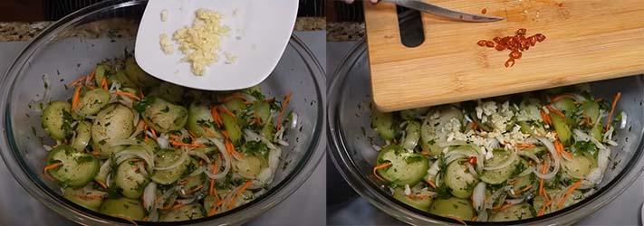 острый-салат-из-зеленых-помидоров-с-морковью-3