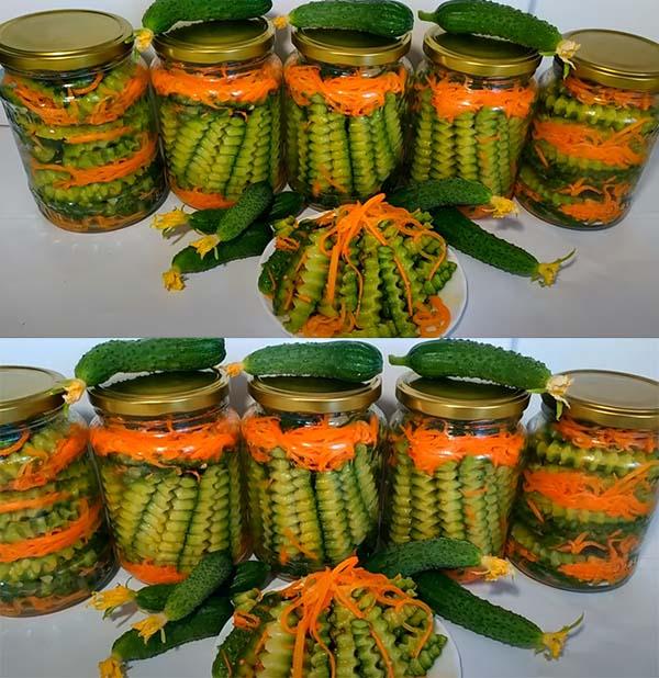 салат-из-огурцов-с-морковью-6