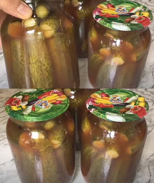 огурцы-в-томатном-соусе-7