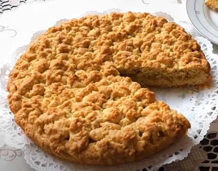 пирог-с-яблоками-и-крошкой-7