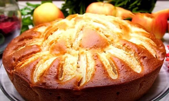 постный-яблочный-пирог-на-кефире-8