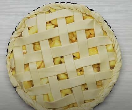 яблочный-пирог-из-слоеного-теста-21