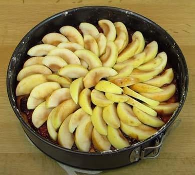 яблочный-пирог-со-взбитыми-белками-8