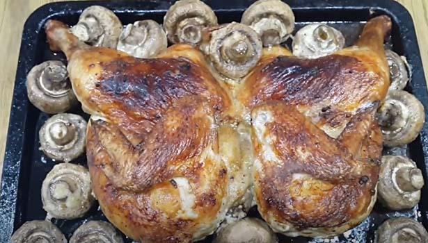 курица-с-шампиньонами-в-духовке-6