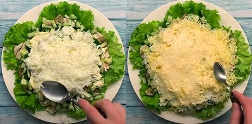 салат-подсолнух-с-курицей-и-огурцом-9