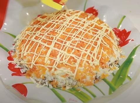 салат-подсолнух-с-жареной-курицей-10