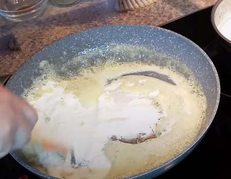 жульен-из-курицы-и-грибов-в-духовке-7