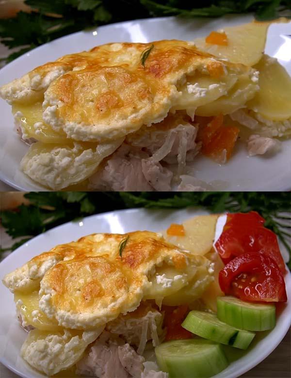 картофельная-запеканка-с-курицей-в-духовке-9