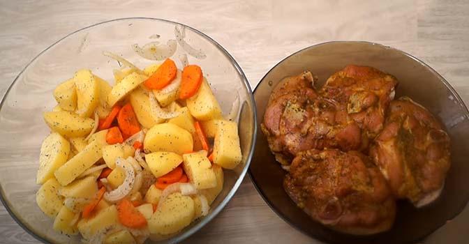 картошка-с-курицей-в-рукаве-3