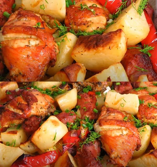 курица-кусочками-с-картошкой-в-духовке-6