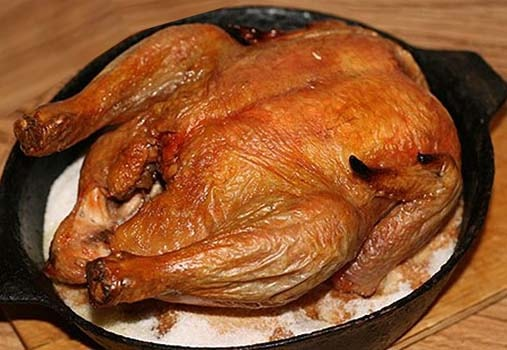 курица-на-соли-в-духовке