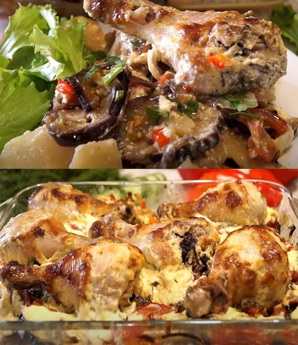 курица-с-баклажанами-в-духовке-рецепт-11