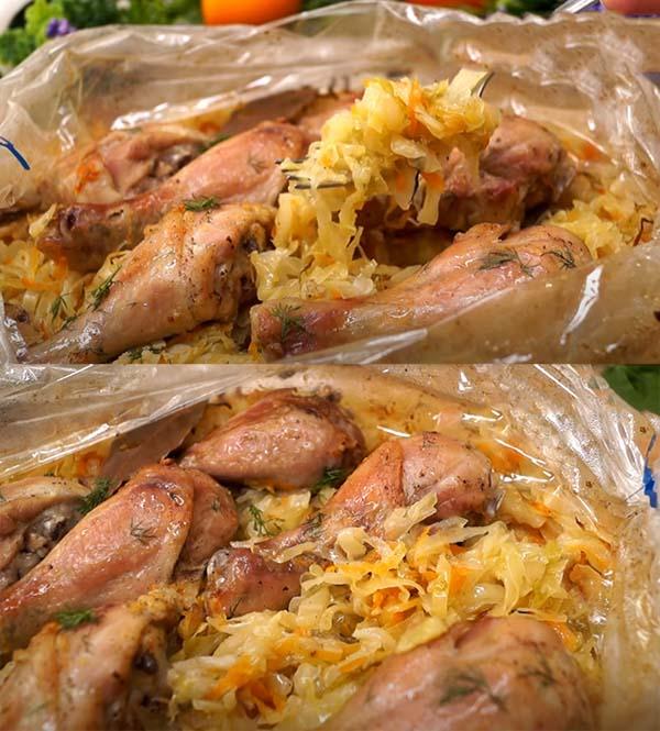 курица-с-капустой-в-рукаве-в-духовке-8