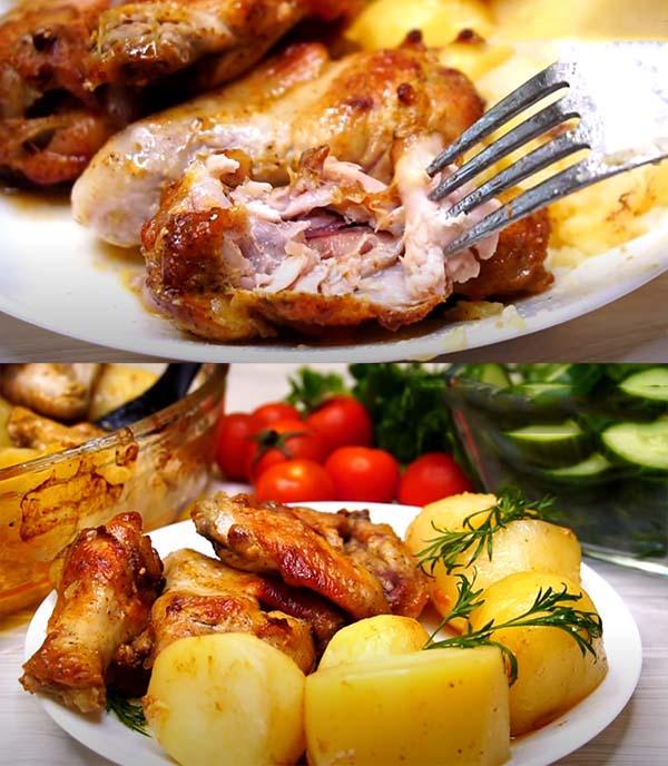 курица-с-картошкой-в-духовке-рецепт-7