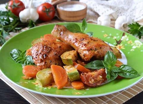 курица-с-овощами-в-духовке