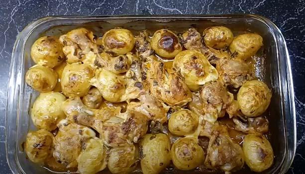 молодая-картошка-с-курицей-в-духовке-5