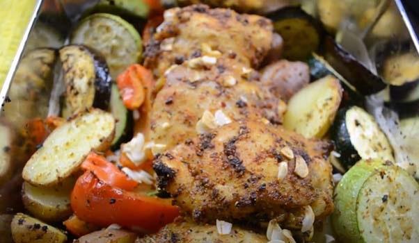 овощи-с-курицей-в-духовке-рецепт-6