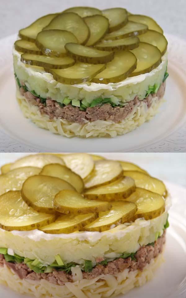 салат-из-печени-трески-с-соленым-огурцом-9