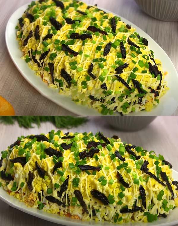 салат-из-печени-трески-с-яйцом-и-черносливом-11