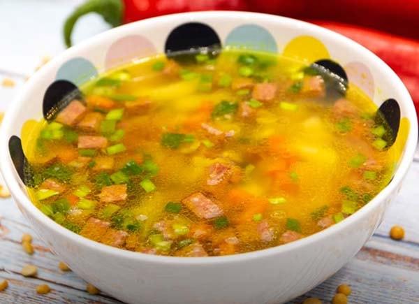 гороховый-суп-с-копченой-колбасой-7