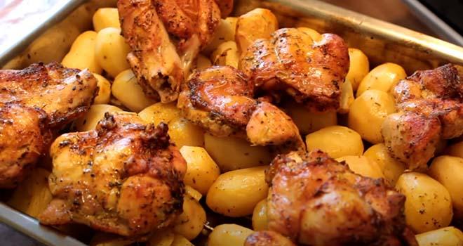 индейка-с-картофелем-в-духовке-5
