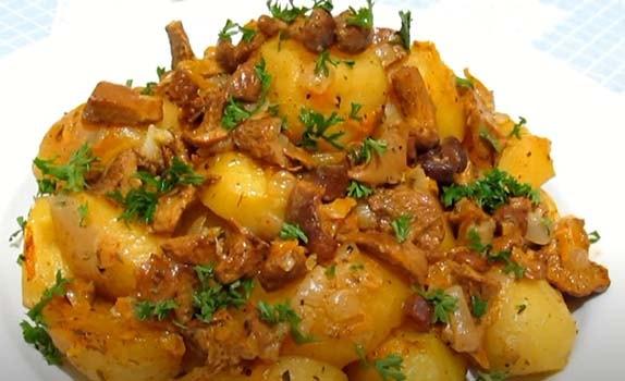картошка-с-грибами-в-духовке-9
