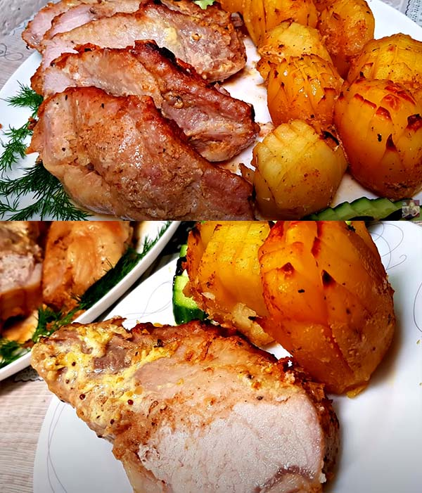 свинина-с-картофелем-в-духовке-11