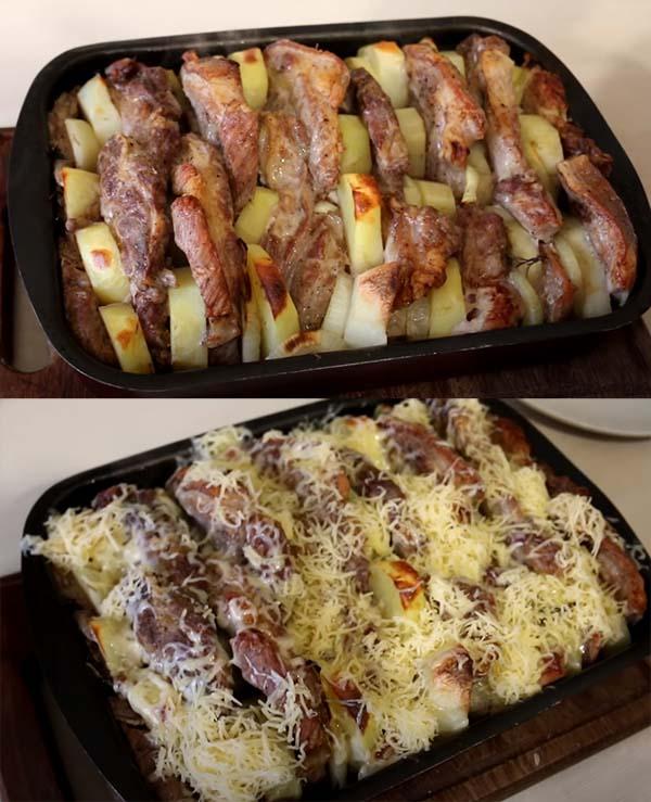 жаркое-из-свинины-с-картошкой-в-духовке-7