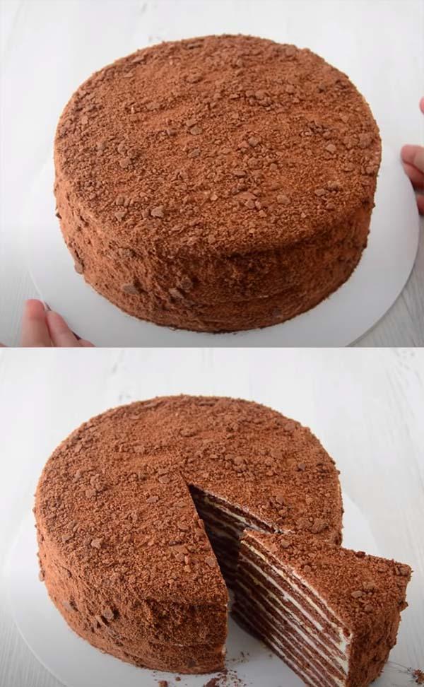 торт-медовик-на-сковороде-19
